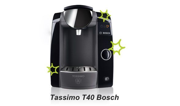 Cafetera Tassimo T40